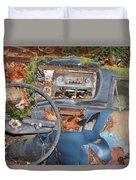 Mossy Datsun Duvet Cover