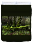 Mossy Fence 3 Duvet Cover