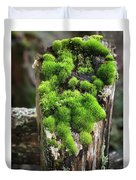 Mossy Fence - 365-321 Duvet Cover