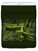 Mossy Fence 4 Duvet Cover
