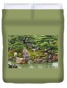 Mossy Japanese Garden Duvet Cover