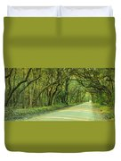 Mossy Oaks Canopy Panorama Duvet Cover