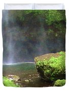 Mossy Rock Duvet Cover
