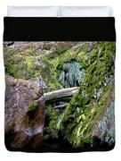 Mossy Rocks Duvet Cover
