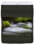 Mossy Rocks  Oregon 1 Duvet Cover