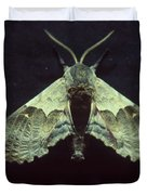 Moth At Texaco Station Duvet Cover