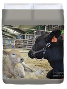 Mother And Child Duvet Cover by To-Tam Gerwe