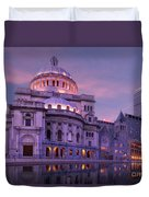 Mother Church And Reflection Duvet Cover