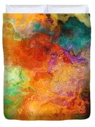 Mother Earth - Abstract Art Duvet Cover