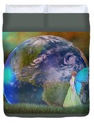 Mother Earth Series Plate3 Duvet Cover