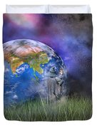 Mother Earth Series Plate4 Duvet Cover