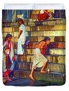 Mother Ganges - Paint Duvet Cover