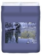 Mother Natures Chilling Touch Duvet Cover