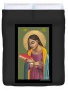 Mother Of God After Fra Angelico 168 Duvet Cover