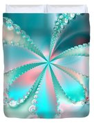 Mother Of Pearl Butterfly Duvet Cover