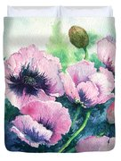Mother's Prize Poppies  Duvet Cover