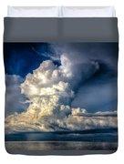 Mothership Thunderstorm  Duvet Cover