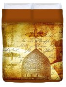 Moths And Mosques Duvet Cover
