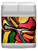 Motion And Light Abstract Duvet Cover