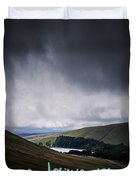 Motivational Travel Poster - Eudaimonia Duvet Cover