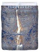 Motivational Travel Poster - Fernweh 2 Duvet Cover