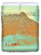 Motivational Travel Poster - Schwellenangst 2 Duvet Cover