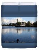 Motlawa River Gdansk Duvet Cover