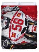 Moto Gp Simoncelli Honda 58 Duvet Cover