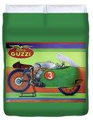 Moto Guzzi V8 Duvet Cover