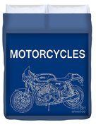Moto Quotes Duvet Cover