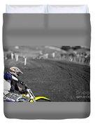 Motocross Slingshot Duvet Cover