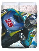 Motogp - Maverick Full Gas  Duvet Cover