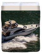Motor Boat 2 Duvet Cover