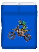 Motorbiker Duvet Cover