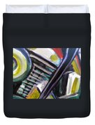 Motorcycle Abstract Engine 1 Duvet Cover