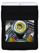 Motorcycle Abstract Engine 2 Duvet Cover