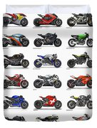 Motorcycle Concepts 2017-2018 Duvet Cover
