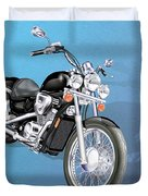 Motorcycle Duvet Cover
