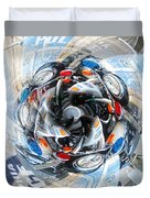 Motorcycle Mixup Duvet Cover