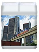 Motoring In The Motor City Duvet Cover