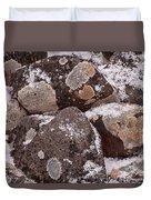 Mottled Stones Duvet Cover