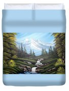 Mounatain Hide-away Duvet Cover