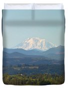 Mount Adams In Washington State Duvet Cover