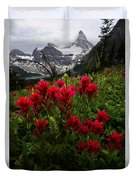 Mount Assiniboine Canada 11 Duvet Cover