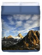 Mount Assiniboine Canada 14 Duvet Cover