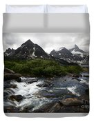 Mount Assiniboine Canada 15 Duvet Cover