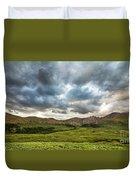 Mount Bierstadt Cloudy Evening 2x1 Duvet Cover