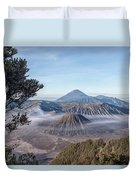 Mount Bromo National Park - Java Duvet Cover