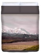 Mount Denali Duvet Cover
