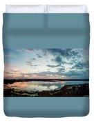 Mount Dora Fl Sunset Duvet Cover